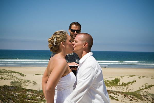 Mike & Cathy Beach Wedding
