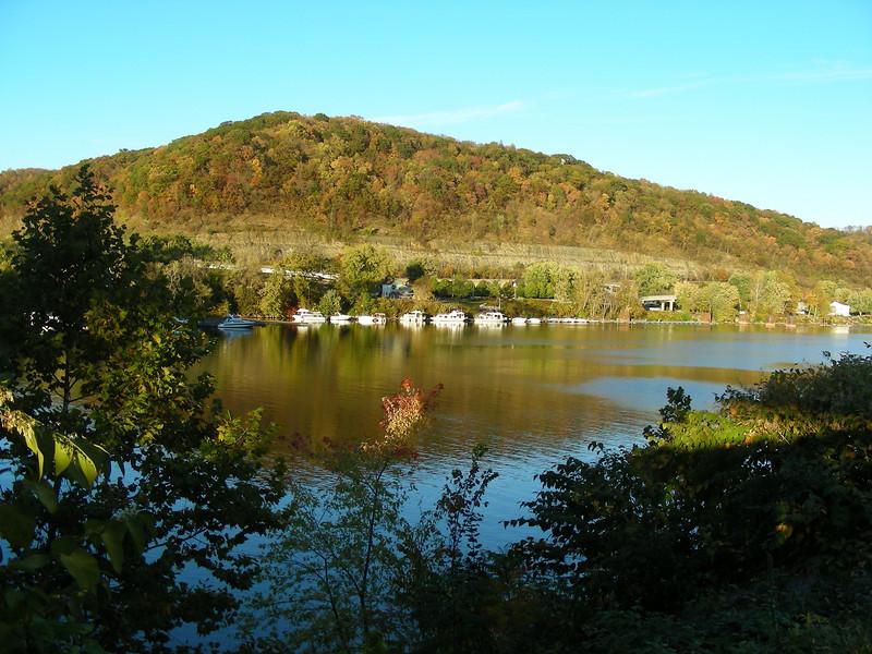 Pleasant day along the Ohio River