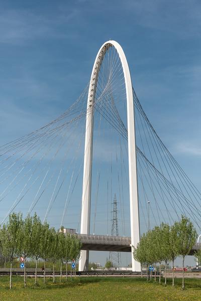 Vele di Calatrava, South bridge - Reggio Emilia, Italy - April 7, 2011