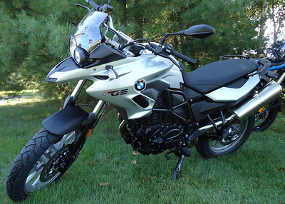 2013 F700GS and F800GS