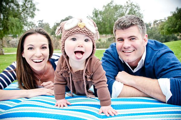 Balboa Park - Pepper Grove Park 8 Month Old & Family