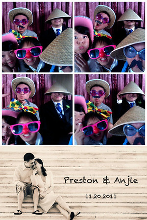 {Anjie & Preston} Photo Booth