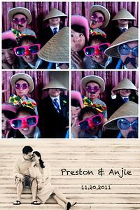 {Anjie & Preston} Photo Booth