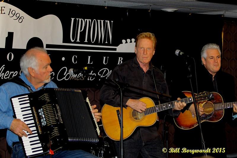 Denis Keldie, Russell deCarle, Steve Briggs - Russell deCarle Trio at the Uptown Folk Club 006