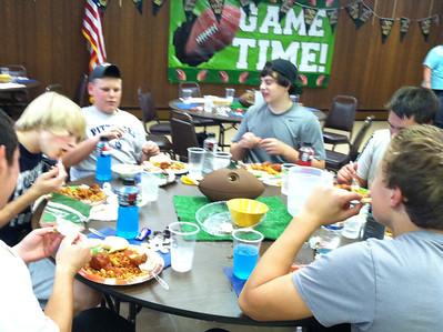 Freshman / JV Spaghetti Dinner 2012