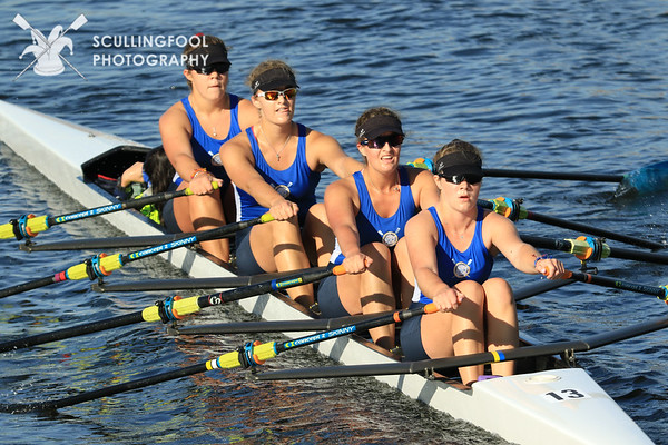 Women's Youth Coxed Quads