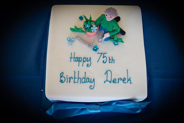 Derek's 75th