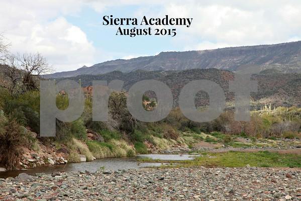 Sierra Academy Aug. 2015