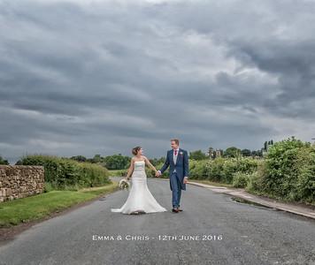 Emma & Chris 12th June 2016 - Rogerthorpe Manor