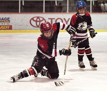 Youth Hockey Blackhawks vs Maple Leafs 12-12-10