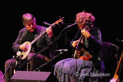 Béla Fleck & Abigail Washburn-Merrill Auditorium-11.1.14