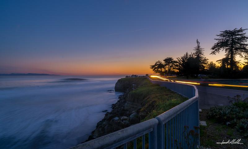 Last light, Steamer Lane