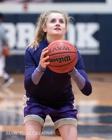Broughton JV girls basketball vs Millbrook. January 22, 2019. 750_5528