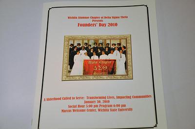 Delta Sigma Theta Sorority, Inc. Founders Day Jan 30, 2010