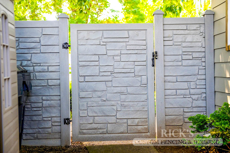 4007 - Allegheny Simulated Rock Fencing