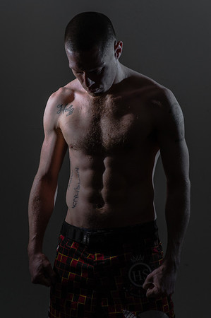 Brandon Hudson: Portrait of a Fighter