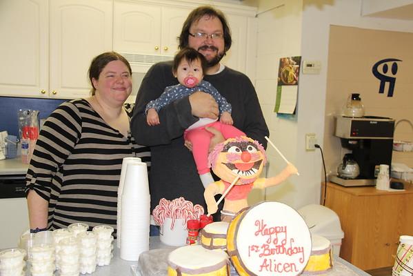 Alicen's First Birthday 2015