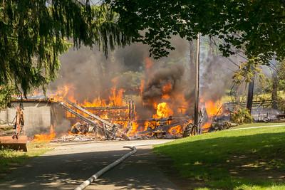 Kings Highway - Barn Fire