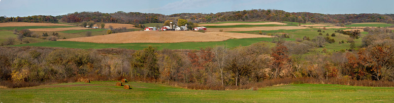 Midwest Farm Panorama