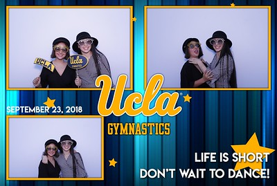 Annual UCLA Gymnastics Mad Hatter Party 2018