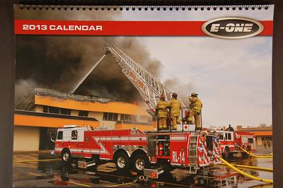 2013 E-One Calendar