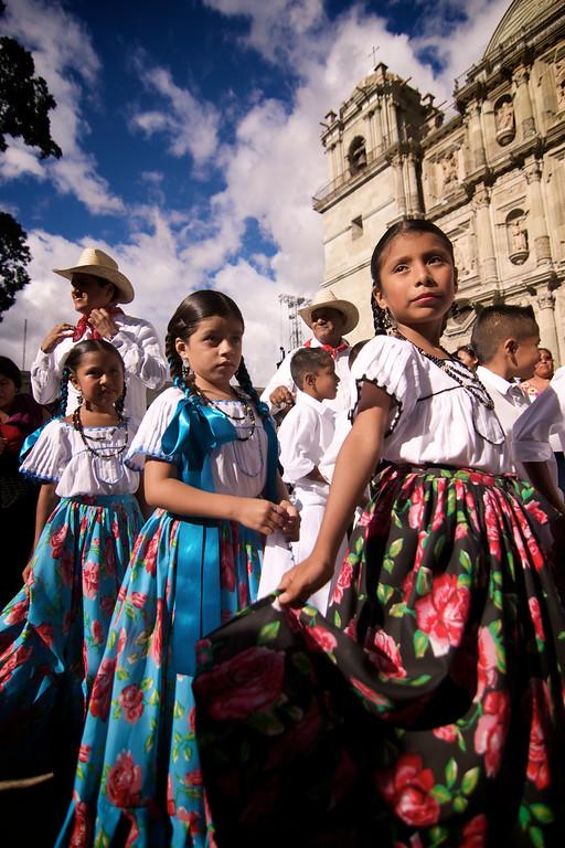 """Chinas Oaxaqueñas"" Children - La Guelaguetza - Oaxaca, Mexico"