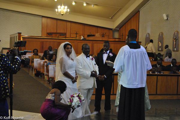 Nana Mensah's Wedding