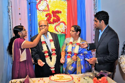 Mrs & Mr Sai Prakash 25th Wedding Anniversary