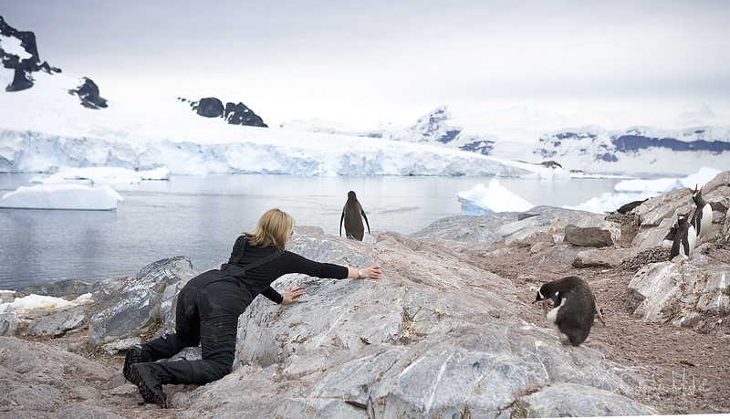 The first glass installation in Antarctica