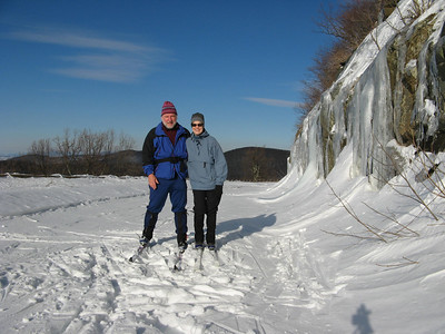 Skiing on the BR Parkway