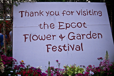 2010 Epcot Garden and Flower Festival