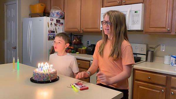 2021 - Kayden's Birthday