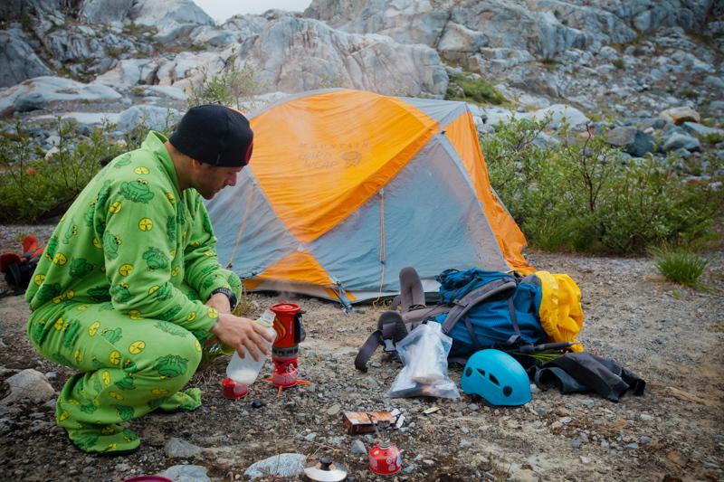 Mountaineering in Garibaldi Provincial Park, British Columbia, canada.