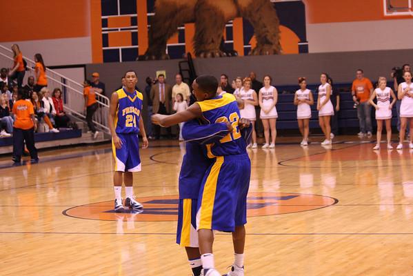 Frisco Varsity Boys Basketball vs. Wakeland 2-3-09 lost
