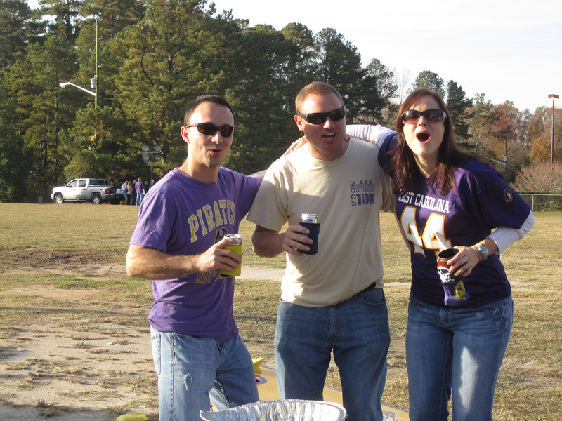 11/19/2011 ECU vs University of Central Florida - Chris, JG, Missy