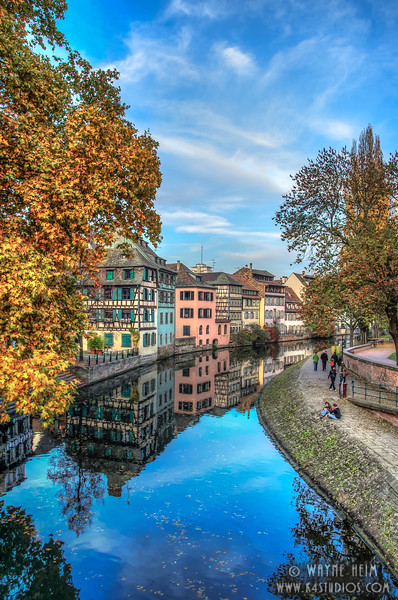 Strasbourg Canal  2      Photography by Wayne Heim