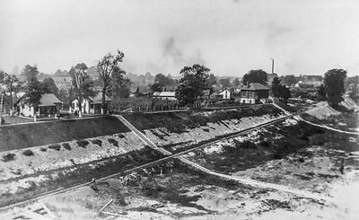 Dam No. 46 construction in Owensboro