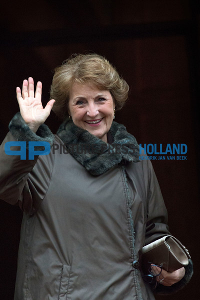New Years Reception King Willem-Alexander - Princess Margriet