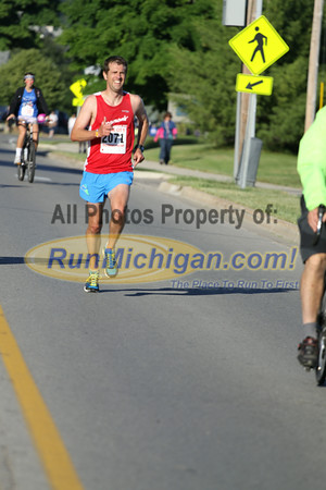 10K at 6.0 Mile Mark - 2014 Boyne City Independence Day Run