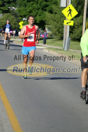 10K at 6.0 Mile Mark - 2014 Boyne City Independence Day Run