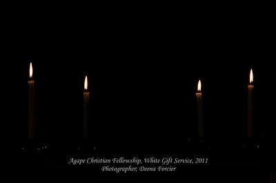 2011 Agape White Gift Service