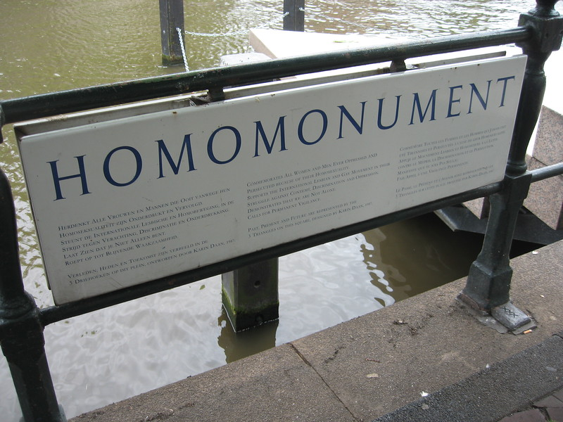 Homomonument, a memorial to homosexuals who have suffered persecution