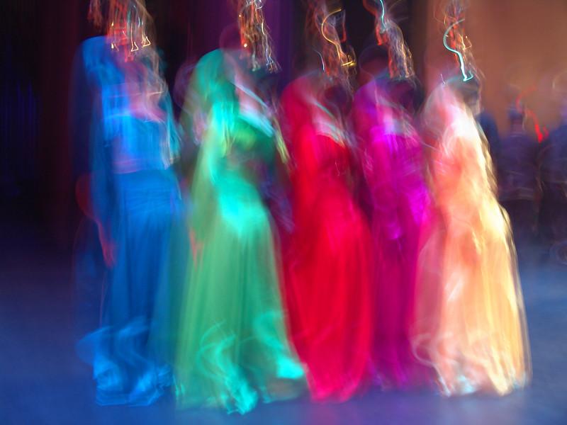 Dancers at a China Night show