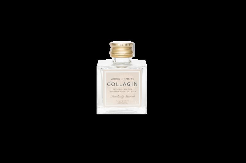 Transparent small bottle - front