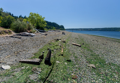 Lisabeula at low tide, July 8 2017