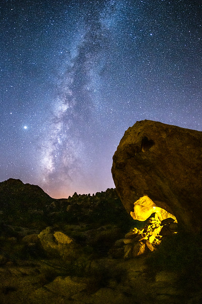 Cave Monster Wants to Eat the Milky Way.