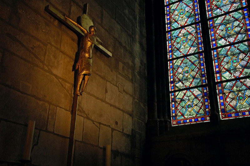 """Jesus Christ in Notre Dame"" - Paris, France"