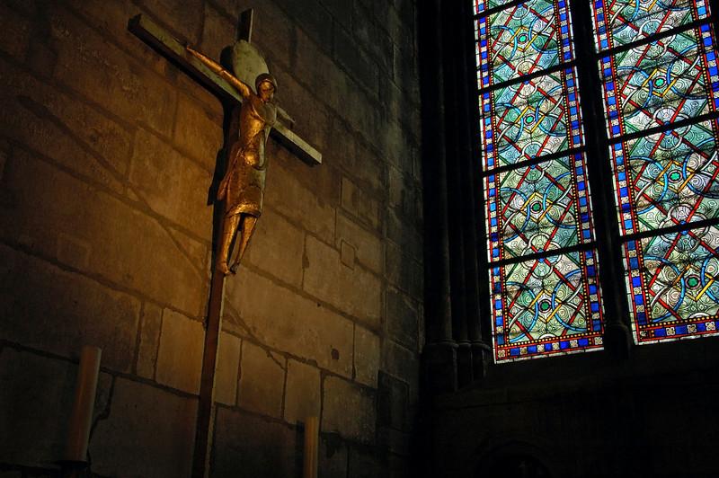 """Jesus Christ in Notre Dame"" - Paris, France"