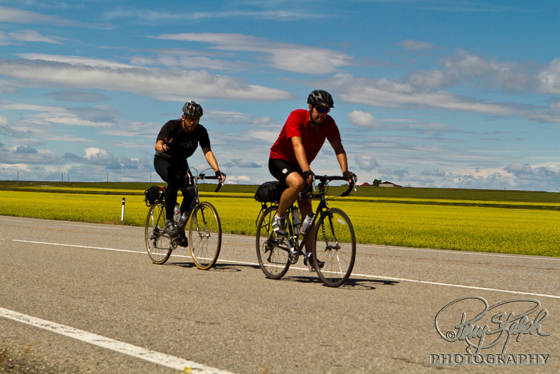 Riding Thru the Canola Fields by 2