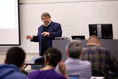 Tim Shorrock at Thomas Bass' class